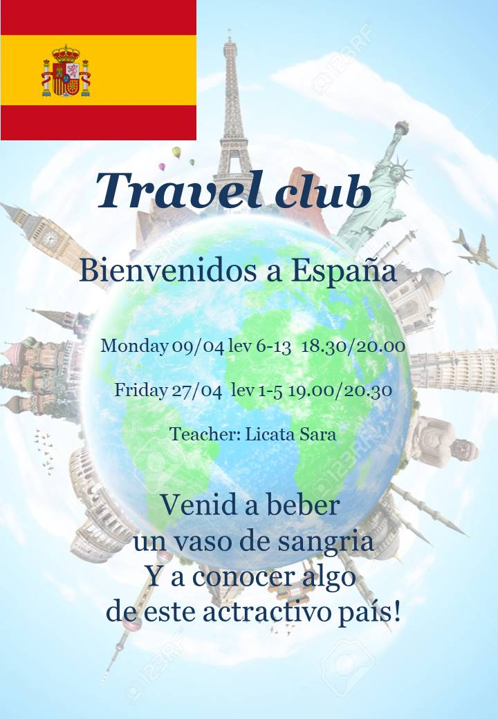 TRAVEL CLUB: SPAIN lev 1-5