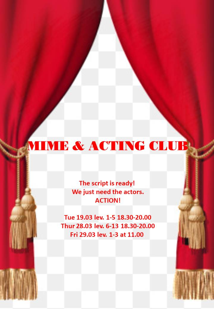 MIME & ACTING CLUB